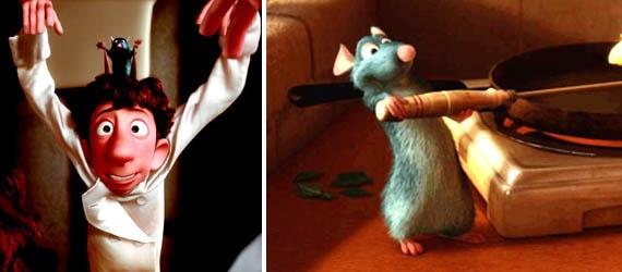 Filmy pro děti - Ratatouille Remy a Linguin
