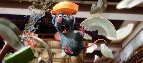 Filmy pro děti - Ratatouille Remy