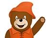 Omalovánky k vytisknutí - Medvídek